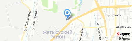 Из паркетника во внедорожник на карте Алматы