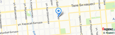 Баянды жол сервис на карте Алматы