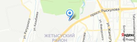 Квант Торг Сервис на карте Алматы