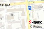 Схема проезда до компании SUNSHINE в Алматы