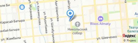 Консалтинг & Бизнес лтд на карте Алматы