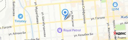 Жаркын на карте Алматы