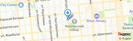 Funky Town на карте Алматы