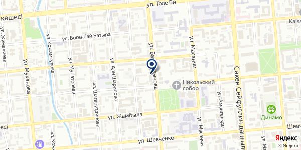 Asia Baylanys Service на карте Алматы