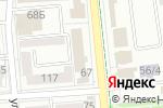Схема проезда до компании Polars Tour в Алматы