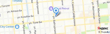 Национальный центр экспертизы лекарственных средств на карте Алматы