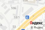 Схема проезда до компании Автосервис в Алматы