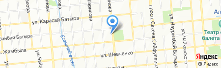 Fbrand на карте Алматы