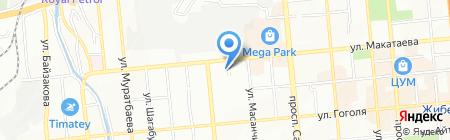 DP Cargo на карте Алматы