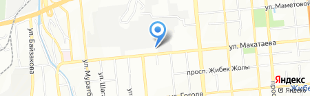 KLM на карте Алматы