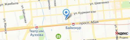 VIP CARS KZ на карте Алматы