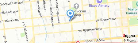 InterPress на карте Алматы