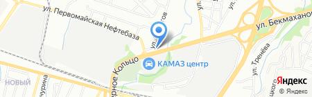 ТетАтет на карте Алматы