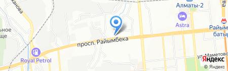 КазСельЭнергоПроект на карте Алматы