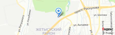Новая на карте Алматы