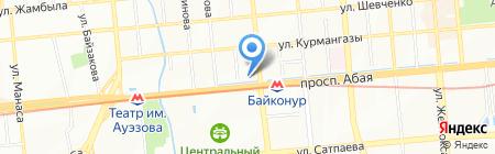 Спортивный клуб на карте Алматы