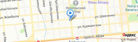 IS Agency на карте Алматы