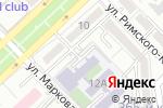Схема проезда до компании Babybee в Алматы