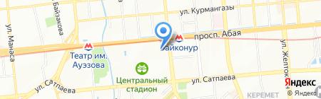 Центр спортивной медицины и реабилитации на карте Алматы