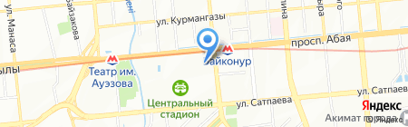 Горнолыжная лавка на карте Алматы