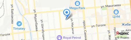 Сармат-Принт на карте Алматы