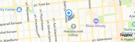 Салон сотовых телефонов и аксессуаров на карте Алматы