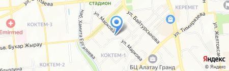 Телематика ТОО на карте Алматы