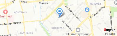 Ak Kain Cargo Express на карте Алматы