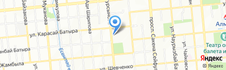 КоГеАн на карте Алматы