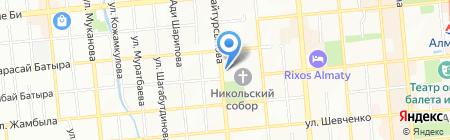 МедОптика сеть оптик на карте Алматы