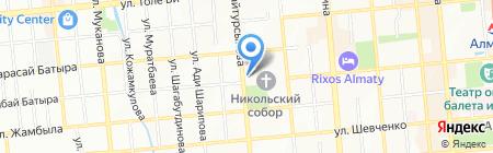 Иконная лавка на карте Алматы