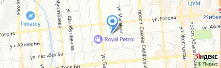 СКАНДАЛ на карте Алматы