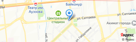 Manhattan на карте Алматы