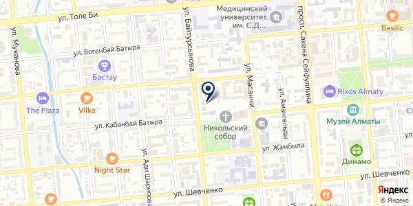 Тәтті на карте Алматы
