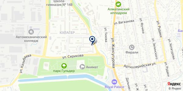 Web Alerom на карте Алматы