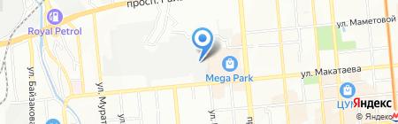 A-Star Line на карте Алматы