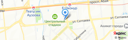 Elite Event на карте Алматы