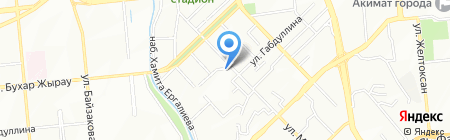 Хазрат-Али-Акбар на карте Алматы