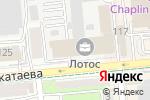 Схема проезда до компании Комэл ЛТД в Алматы