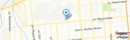 Новые машины на карте Алматы