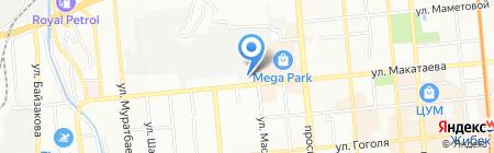 Merlion на карте Алматы