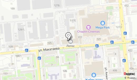 iBEC Systems. Схема проезда в Алматы