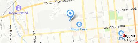 StayFit на карте Алматы