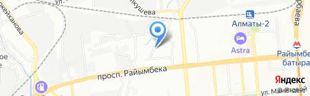 Общеобразовательная школа №174 на карте Алматы