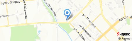 Ата на карте Алматы
