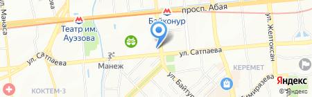 Sulu на карте Алматы