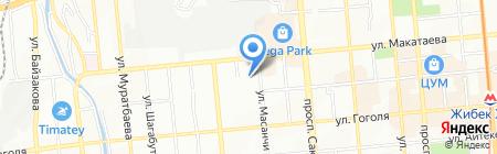 Cross Way на карте Алматы