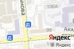 Схема проезда до компании Duet Nail в Алматы