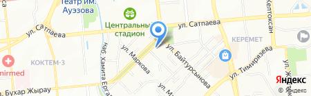 Julie Lapidus на карте Алматы