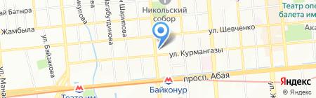 Кадыргали Би Косымулы Жалаири на карте Алматы